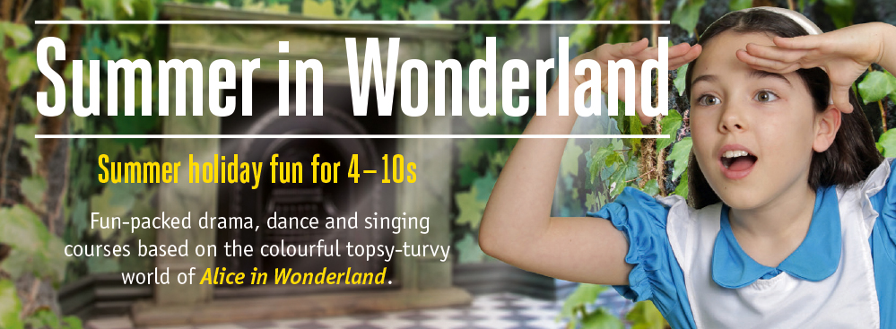 Tumble down the rabbit hole with Alice and discover the topsy-turvy world of Wonderland.