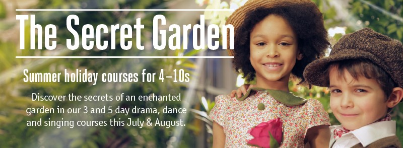 This July and August, we are re-awakening children's sense of fun and adventure with 3 and 5 day courses based on The Secret Garden.