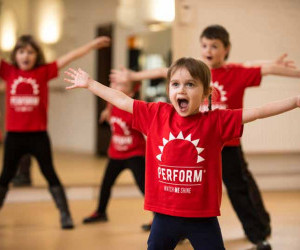4 year olds benefit from performing arts classes at perform