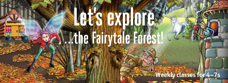 This term, 4-7 year old children are heading into the Fairytale Forest for an amazing drama, dance and singing adventure. We've taken much-loved classic fairytales and mixed them up with the latest funky moves and grooves, and there are some extraordinary characters to meet.